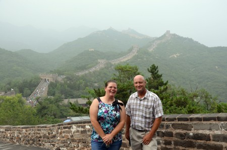 Iowa farmers visit the Great Wall of China