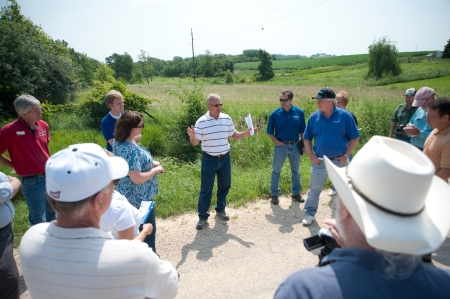 Linn County farmers, community leaders, city officials, planners, water treatment officials, and elected representatives gathered last summer to discuss efforts to improve water quality.