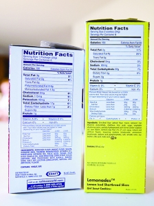 Nutrition Labels1